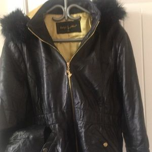 AUTHENTIC Vintage baby phat leather jacket